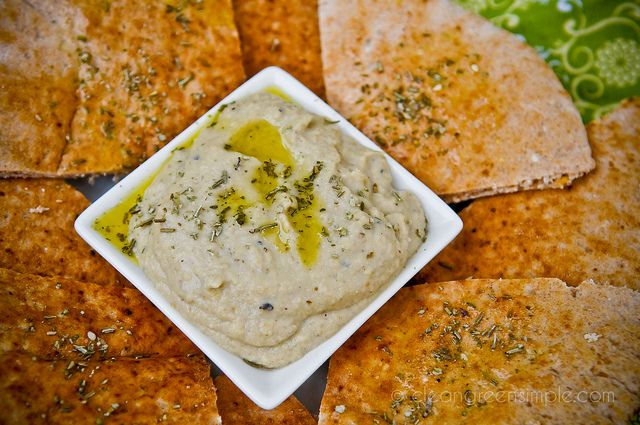 Baba Ghanoush eggplant dip | Snacks n' tiny food | Pinterest