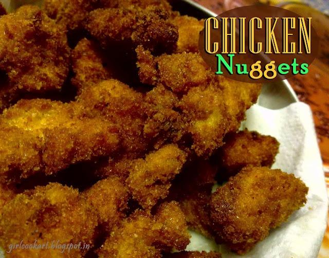Chicken Nuggets - easy recipe | YUM | Pinterest