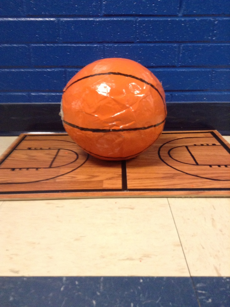 valentine day basketball box ideas