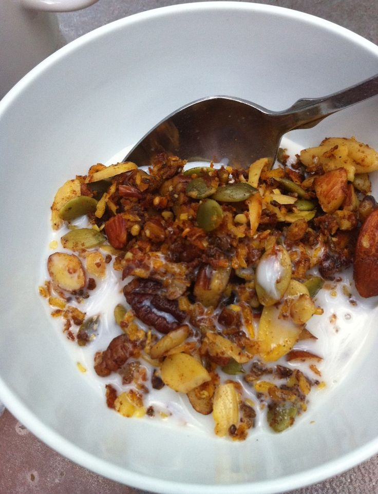 pumpkin granola | healthy & tasty | Pinterest