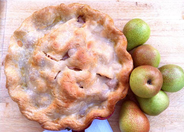 Forelle Pear & Raspberry Pie #dessert | Recipe Box | Pinterest