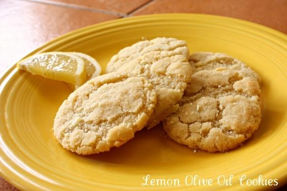 Lemon Olive Oil Cookies | cookies | Pinterest