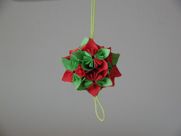 christmas origami ornaments crafts pinterest
