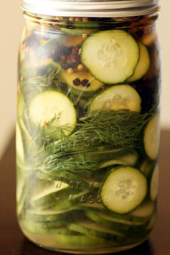 quick and easy homemade pickles (littlebluehen.com)