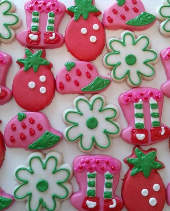 Strawberry Shortcake Cookies | Cookies | Pinterest