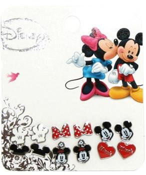 Loungefly Disney Mickey & Minnie Earrings - Set of 6