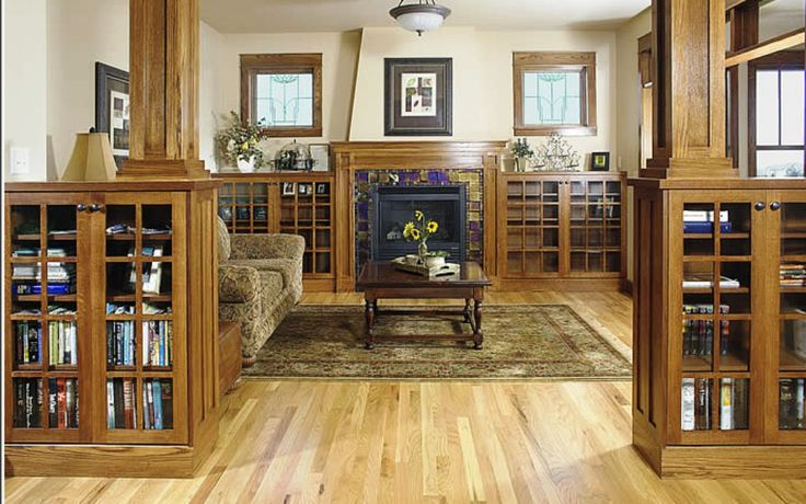 Craftsman style home interiors true craftsman visually Craftsman home interior