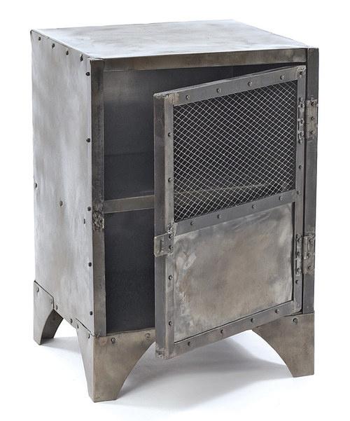 Vintage Steel Shoe Locker
