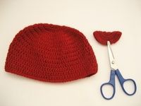 Simple Crochet Baby Beanie - A Free Pattern