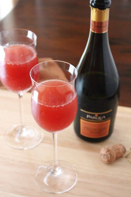 Love and Confections: Blood Orange Mimosas for #BrunchWeek