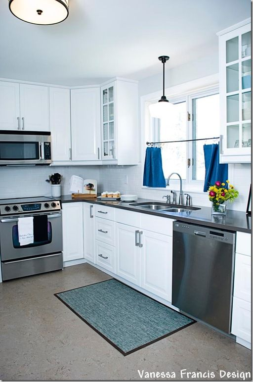 Ikea Kitchen Flooring Beautiful Kitchen Powered By Ikea Kitchens And Pantries Pinterest