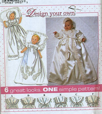 CHRISTENING GOWN PATTERN SEWING | My Sewing Patterns