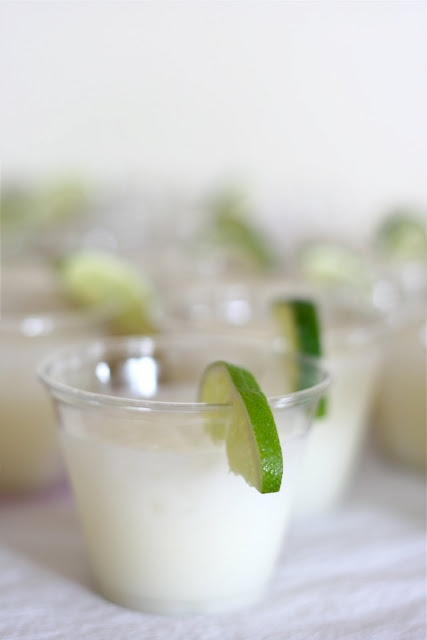 ... sweetened condensed milk 4 sliced limes for serving 1 bag crushed ice