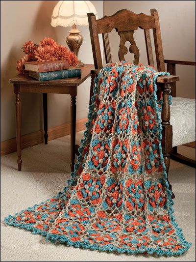 Annie Attic Crochet Free Patterns : Nice. pattern from Annies Attic CROCHET AFGHANS, BLANKETS & THROW ...