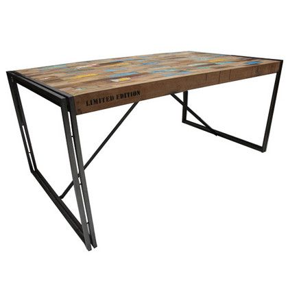 Industrial Chic Dining Table My Style Pinterest