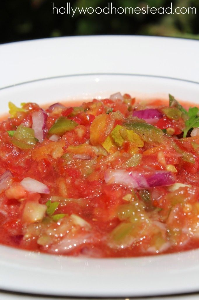 Simple Salsa | GFCF--Mexican and Hispanic | Pinterest