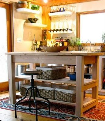 how to make your own kitchen island kitchens pinterest. Black Bedroom Furniture Sets. Home Design Ideas