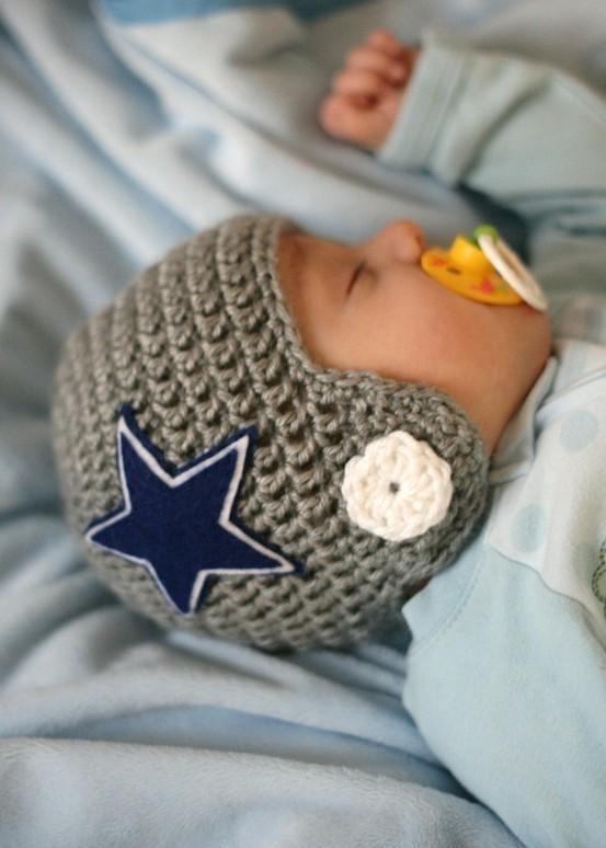 Knitting Pattern For Baby Cowboy Hat : football hat Dallas Cowboys! Pinterest