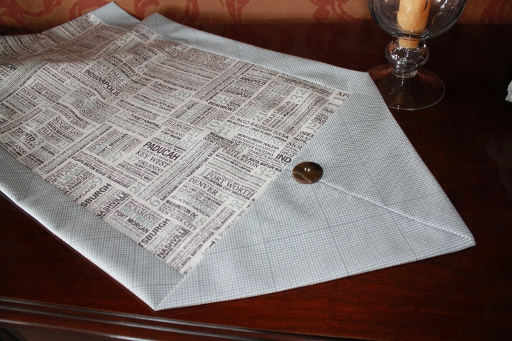 10 minute table runner sewing pinterest for 10 min table runner