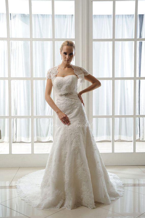 2014 A line Crystal Beaded Wedding Dress,Corset Wedding Gown,Wedding ...