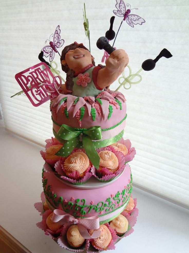 Jazz Singer Birthday Cake