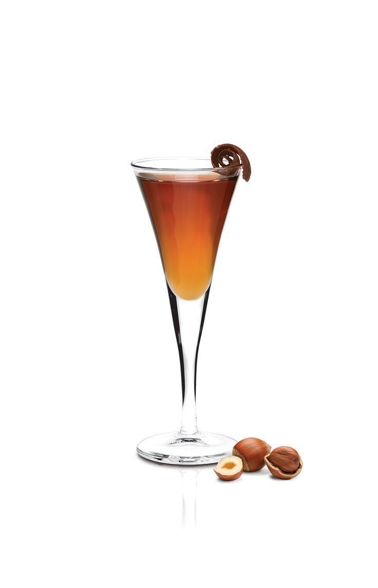 """... better in this world than Frangelico. """"Frangelico Truffle Cocktail"""