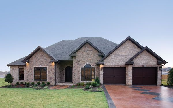 Stylish ranch home plan south dakota dream house pinterest for Ranch style dream homes