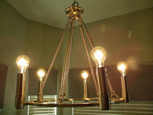 diy knock off look a like restoration hardware chandelier via the