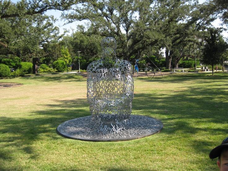Nola Sculpture Garden City Park New Orleans Pinterest