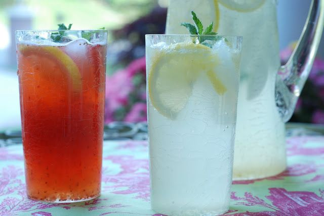 Old Fashion Lemonade + Pink Lemonade | Drinks | Pinterest