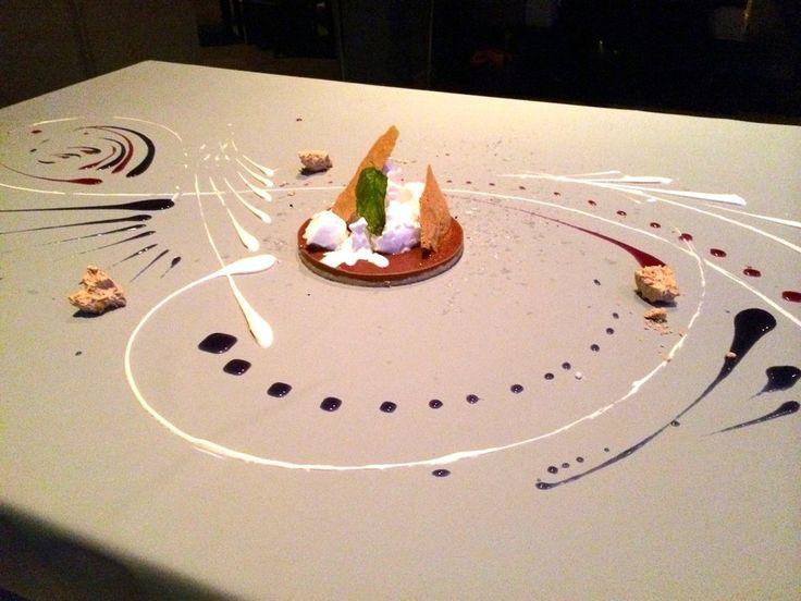 CHOCOLATE. pate sucree, violet, hazelnut | Geoff stuff | Pinterest