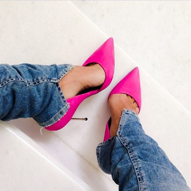 Fuchsia Heels #SummerStyles #SS14 #figleaves