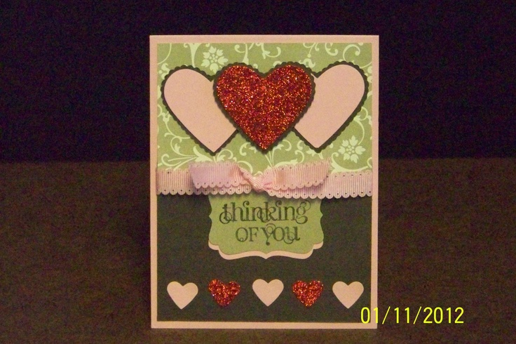 valentine's card using math words