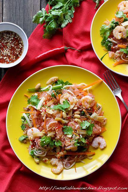 Pomelo Salad | Cute Foods | Pinterest