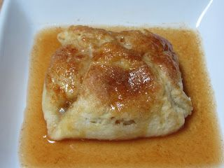 Apple Dumplings With Rich Cinnamon Sauce Recipe — Dishmaps