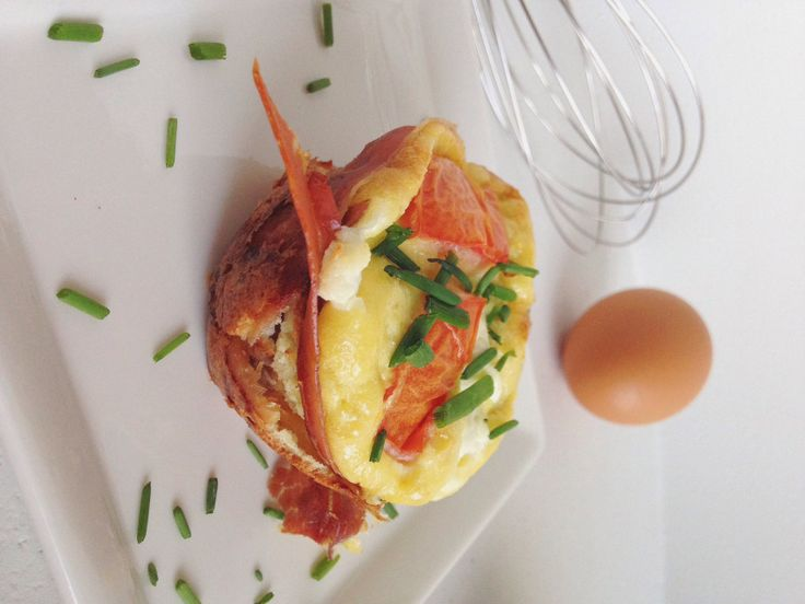 Prosciutto-Wrapped Frittata Muffins | Egg Recipes | Pinterest