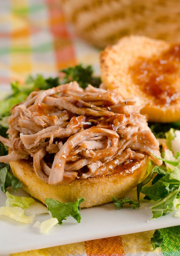 Slow Cooker Barbecue Pulled Pork by SeededAtTheTable.com
