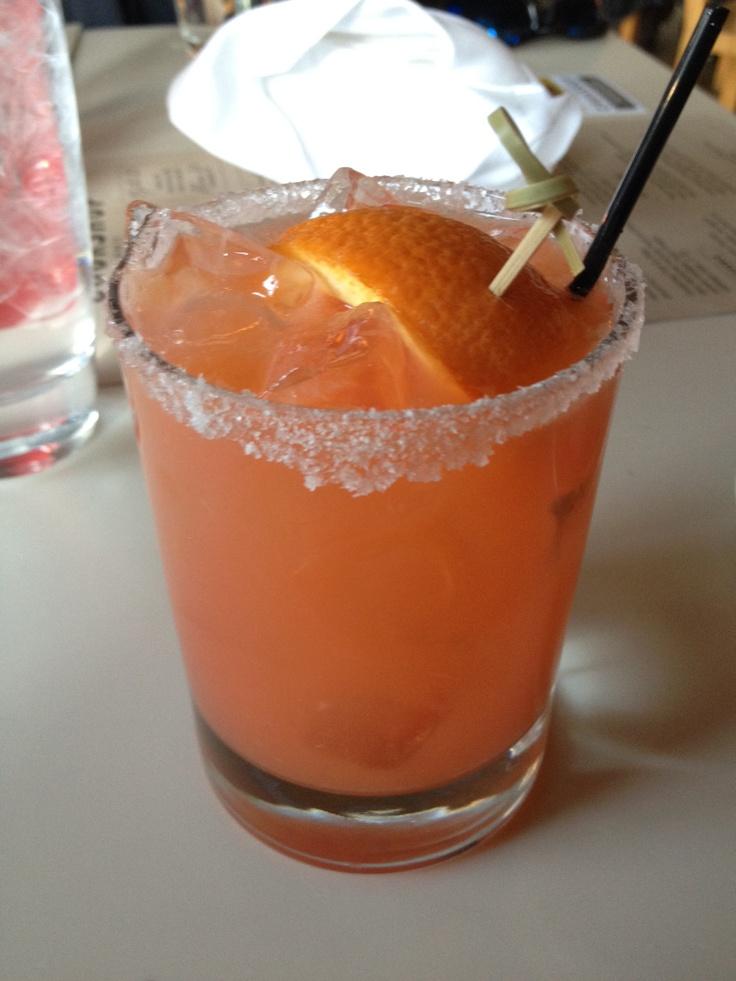 Blood Orange Habanero Margarita @Cookshop (NY)