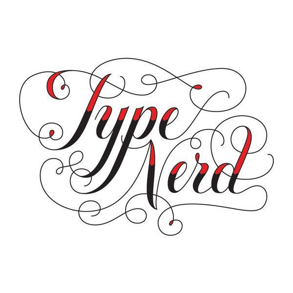 type nerd // temporary tattoo