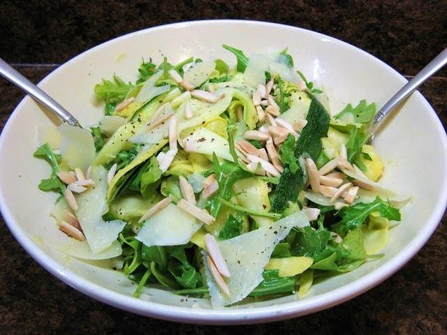 shaved summer squash salad | Healthy Choices- U R What U Eat | Pinter ...