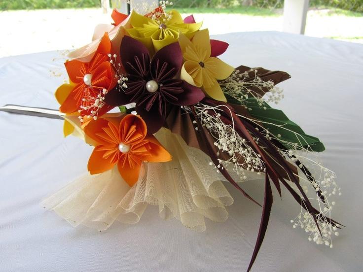 origami wedding bouquet origami wedding ideas pinterest