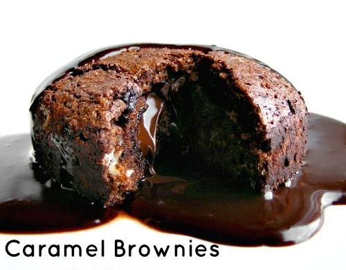 Caramel Brownies | Cookies, Brownies, & Bars | Pinterest