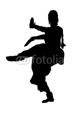 The gallery for --> Indian Dancer Silhouette