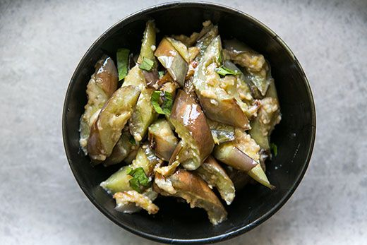 Stir Fried Japanese Eggplant with Ginger and Miso Recipe | Simply ...