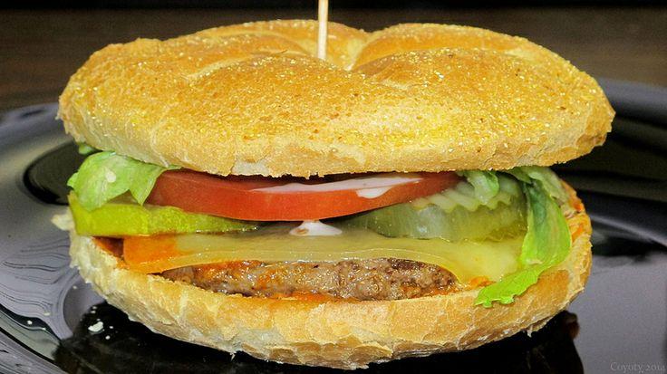 Buffalo ranch & Swiss burger | Burger Nation | Pinterest