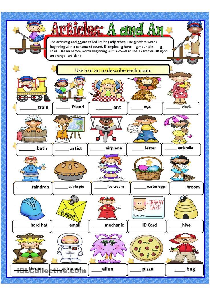 Printable Grammar Worksheets