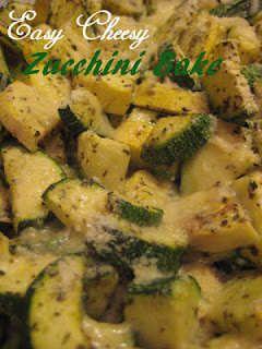 Easy Cheesy Zuchinni Bake | Vegetables 2 | Pinterest