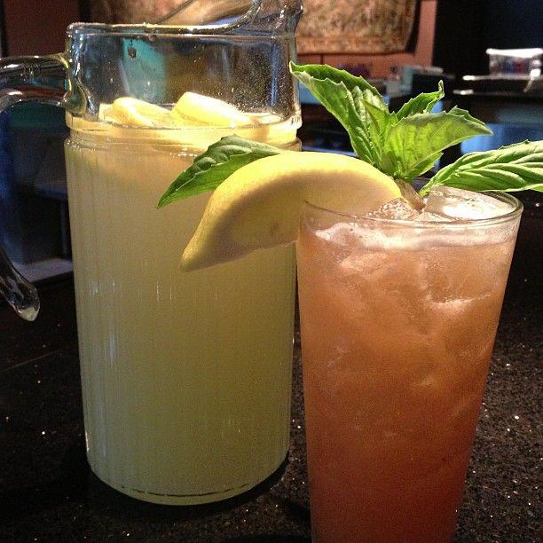 Peach Basil Lemonade   FOX8 Recipe Wednesday   Pinterest