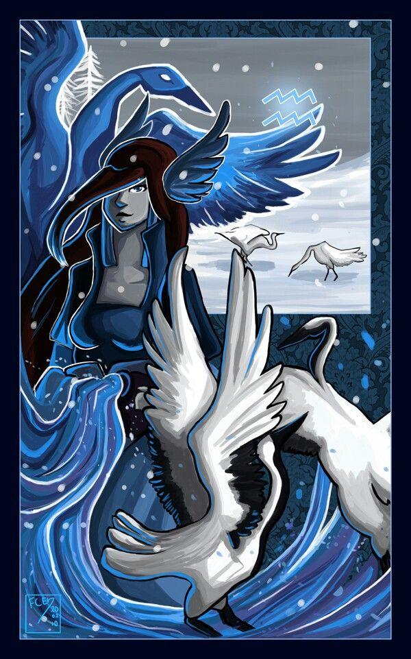Pinned by Cassandra Lynn AmbroseWater Bearer Aquarius