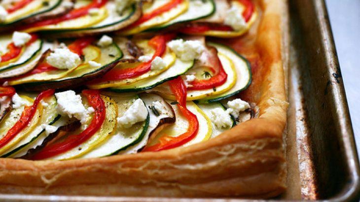 Ratatouille Tart | Yummy Looking Recipes | Pinterest